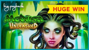 HUGE WIN! Medusa Unleashed Slot – WHOA, THAT JUST HAPPENED?!