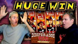 HUGE WIN on Desperados Wild Megaways