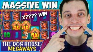 HUGE WIN on THE domestic dog HOUSE MEGAWAYS Bonus Buys!