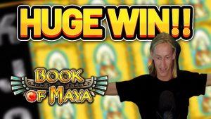HUGE WIN!!!! volume OF MAYA large WIN –  casino bonus Slot from Casinodaddy LIVE current