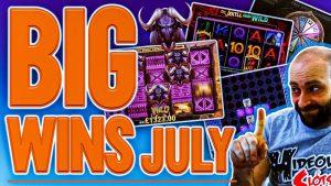 Afschuwelijke slots - Top 10 grote slots wint in juli!