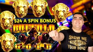 High bound Buffalo atomic number 79 Slot Machine $24 Bet Bonus | Live Slot Play At casino bonus | SE-3 | EP-1