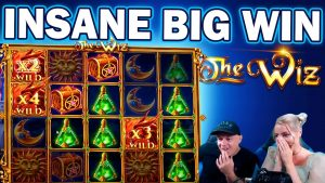 INSANE BIGWIN ON THE WIZ – bank check IT OUT!