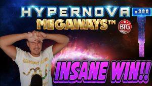 INSANE WIN !! HYPERNOVA MEGAWAYS ири WIN - Casinodaddy LIVE агымынан келген казино бонустук уячасы
