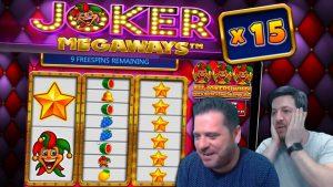 JOKER MEGAWAYS large WINS! novel Online Slot