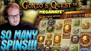Jack plays on Gonzo's Quest Megaways