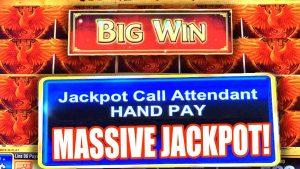 MASSIVE JACKPOT WINNER! ★ blood-red PHOENIX HIGH boundary SLOT MACHINE ➜ large WIN MULTIPLIER!