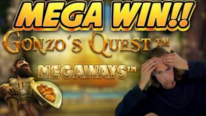 MEGA WIN!!!! GONZOS QUEST MEGAWAYS large WIN –  casino bonus slot from Casinodaddy LIVE current