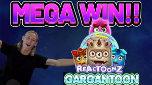MEGA WIN !! REACTOONZ WIN גדול - חריצים מקוונים מבית Casinodaddy LIVE