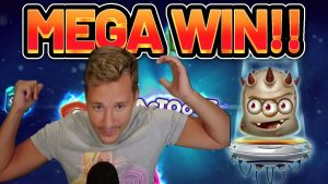 MEGA WIN !!! REACTOONZ velký WIN - kasino bonusový slot od Casinodaddy LIVE proud