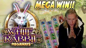 MEGA WIN!!!! WHITE RABBIT MEGAWAYS large WIN – casino bonus Slot from Casinodaddy LIVE current