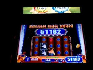 MEGA stor WIN slotbonus Robin Hood Golden Arrow @ Parx casino bonus