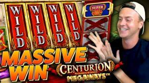 Massiivne võit Centurion Megaways