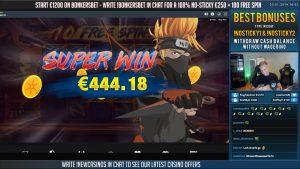 Ninja Ways 399x large WIN yesteryear CasinoDaddy casino bonus slots