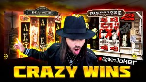 #ROSHTEIN - CRAZY WINS verso l'interno di THE DEADWOOD e il bonus del casinò ONLINE TOMBSTONE SLOT