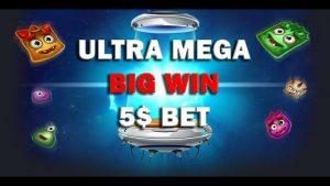 Reactoonz (PLAY N GO) Slot ULTRA MEGA large WIN ONLINE casino bonus 5$ BET