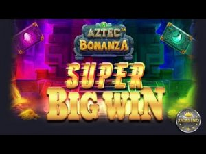 SUPER large WIN BEI AZTEC BONANZA (PRAGMATIC PLAY) – 2.70€ EINSATZ!