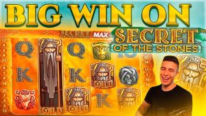 SURPRISINGLY goodness BONUS ON SECRET OF THE STONES | large WIN ON NETENT ONLINE SLOT MACHINE