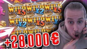 Streamer Insane Win 28.000€ on Wild W Au Slot – TOP 3 BEST WINS OF THE DAILY !