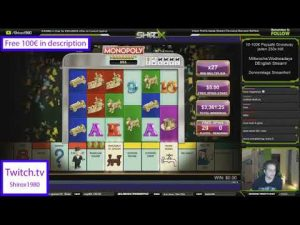 Streamer large win on Monopoly Megaways   Top 5 large wins inwards casino bonus slot