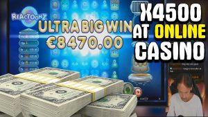 Streamer won x4500 at Online casino bonus🤑 Top 5 biggest wins inward August 2020