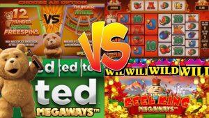 TED MEGAWAYS SLOT vs REEL Rex MEGAWAYS SLOT + large WIN!!