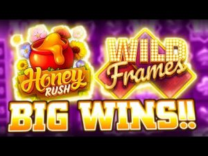 THATS GOTTA live HUGE !!! large WIN on HIGH STAKES SLOTS (Honey Rush)