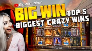 TOP 5 BIGGEST CRAZY WINS OF THE calendar week | casino bonus GAMES | large WIN inwards SLOT DEAD OF live 2