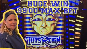 💰🔥TUTS REIGN MAX BET HUGE WIN💰🔥KICKAPOO LUCKY EAGLE casino bonus