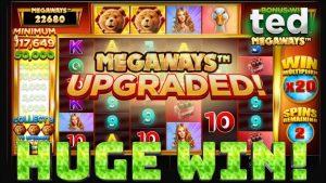 Ted Megaways Huge Win!