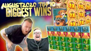 Top 10 Biggest Slot Wins component 1 I August 2020 #34