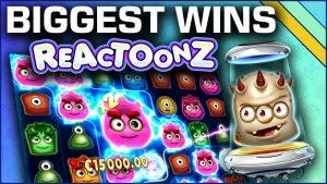 Top 10 Slot Wins on Reactoonz