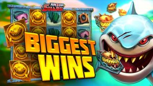 Top 5 Slot Wins on Razor Shark