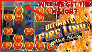 🔥Ultimate flaming Link northward Shore MASSIVE JACKPOT HANDPAY 🔥HIGH bound $40 BONUS Slot Machine casino bonus 🔥