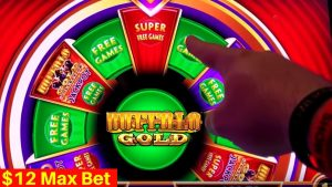 Wonder 4 Jackpots Slot Machine SUPER large WIN – $12 Max Bet Super unloose Games | SE-3 | EP-4