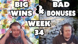 casino bonus highlights of the calendar week 34 Feat. INSANE WIN from Razor Shark ★ Played on Vihjeareena´s current