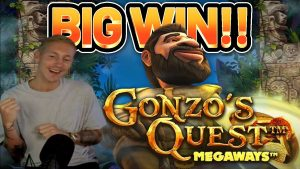 large WIN!! GONZOS QUEST MEGAWAYS large WIN –  casino bonus slot from Casinodaddy LIVE flow
