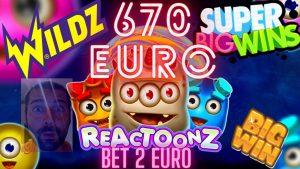 !!!!!!! nui WIN REACTOONZ !!!!!!!! 670 EURO BET: 2 Euro