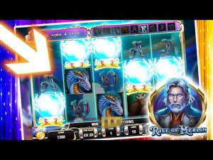 large WIN on ascent OF MERLIN SLOT as well as MAGIC MIRROR (WOW) !!!