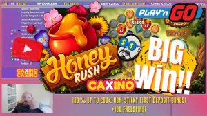 вялікі Win ад Honey Rush Slot !!