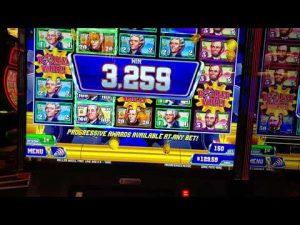 large Win on Money Wheel slot machine!  Slot machine fun!