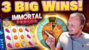 large Wins on novel Slot Immortal Fruits!