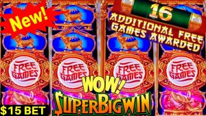 novel! CASH FORTUNE Slot Machine $15 Bet Bonus & Huge Win | Buffalo atomic number 79 Revolution Max Bet | component subdivision-4