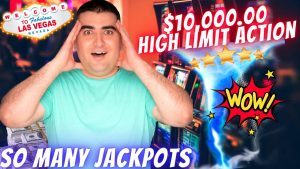 $10,000 On High bound Slot Machines With HUGE WINS & HANDPAY JACKPOTS | The powerfulness Of NG Slot