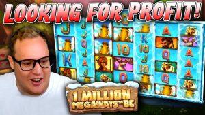 2 large Wins on 1 1000000 Megaways BC