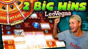 2 large Wins on LeoVegas Megaways