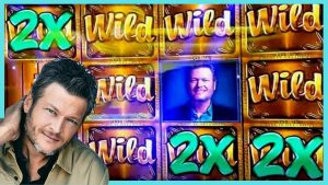 BLAKE SHELTON Comes Through with a large WIN! Vegas Slot Video | casino bonus Countess