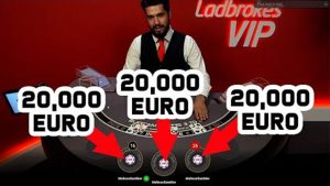 Blackjack Online large Win 20.000€ past times mitt ! (Online casino bonus Blackjack)
