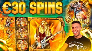 CRAZY 30€ HIGHROLL SABATON RAW MONEY SESSION | large WINS ON PLAY N GO ONLINE SLOT MACHINE