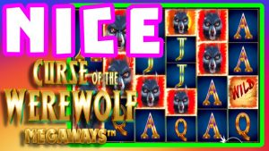 CURSE OF THE WEREWOLF 🙀MEGAWAYS BONUS BUYS large WIN. GREAT LINE striking WOLVES ALL THE WAY‼️😵